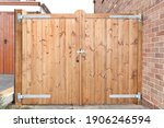 Traditional Double Wooden Gates ...