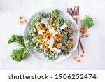 Vegetarian Caesar Salad With...