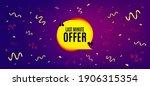 last minute bubble. festive... | Shutterstock .eps vector #1906315354