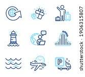transportation icons set....   Shutterstock .eps vector #1906315807