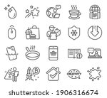 business icons set. included...   Shutterstock .eps vector #1906316674