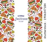 templates for label design with ... | Shutterstock .eps vector #1906347184