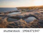 Rocky  Cliff Seafront Coastline ...
