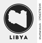 libya icon. round logo with...   Shutterstock .eps vector #1906378144