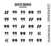 quotation marks vector... | Shutterstock .eps vector #1906396537