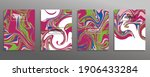 abstract mixture of acrylic... | Shutterstock .eps vector #1906433284