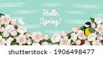 spring season flower background....   Shutterstock .eps vector #1906498477