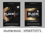 luxury night dance party music... | Shutterstock .eps vector #1906572571