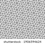 pattern with intersecting white ...   Shutterstock .eps vector #1906594624