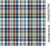 seamless pattern of scottish... | Shutterstock .eps vector #1906595794