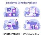 employee benefits package... | Shutterstock .eps vector #1906629517