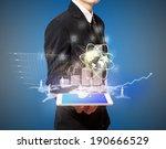 high technology on tablet | Shutterstock . vector #190666529