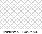 abstract geometry pattern in... | Shutterstock .eps vector #1906690987