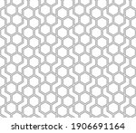 the geometric pattern with...   Shutterstock .eps vector #1906691164