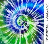 tie dye shirt abstract spiral... | Shutterstock . vector #1906693714