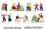 Happy Elderly Activity....