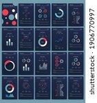 modern infographic vector...   Shutterstock .eps vector #1906770997