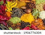 Various Spices  Peppers And...