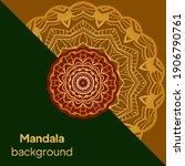 mandalas. decorative round... | Shutterstock .eps vector #1906790761