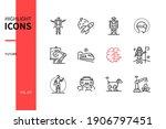 future   modern line design... | Shutterstock .eps vector #1906797451