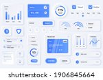 user interface elements for... | Shutterstock .eps vector #1906845664