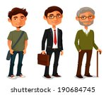 adult,age,ageing,aging,beard,bearded,boy,businessman,cartoon,casual,character,clothes,cute,cycle,elderly