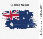 flag of australia in texture...   Shutterstock .eps vector #1906869331