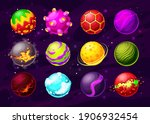 space game fantasy planets with ...