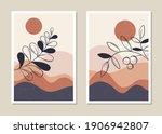 art landscape wall set.... | Shutterstock .eps vector #1906942807