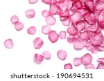 Stock photo petals of pink rose 190694531