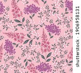 seamless small flower pattern... | Shutterstock .eps vector #1906958131