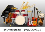 Musical Instruments Realistic...