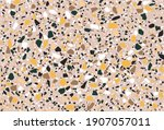 seamless repeating terrazzo... | Shutterstock .eps vector #1907057011