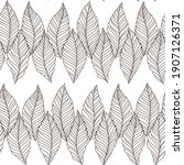 seamless black and white...   Shutterstock .eps vector #1907126371