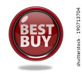 best buy circular icon on white ...   Shutterstock . vector #190713704