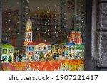 lviv  ukraine. january 2020.... | Shutterstock . vector #1907221417