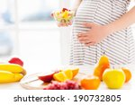 only fresh and healthy food for ... | Shutterstock . vector #190732805