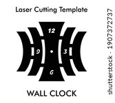 laser cutting file of unique... | Shutterstock .eps vector #1907372737