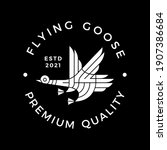 Goose Flying Modern Culture...