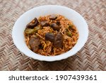 Delicious Mushroom Fried Rice...