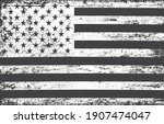 grunge distressed flag of... | Shutterstock .eps vector #1907474047