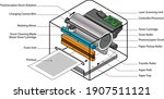 exploded view diagram of a... | Shutterstock .eps vector #1907511121