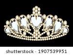 illustration women's gold... | Shutterstock .eps vector #1907539951
