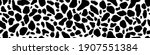vector cow pattern seamless... | Shutterstock .eps vector #1907551384