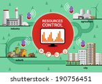 resources control | Shutterstock .eps vector #190756451