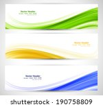 brazil flag concept three... | Shutterstock .eps vector #190758809
