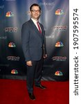 Small photo of NEW YORK-SEP 16: Magician Derek Hughes attends the America's Got Talent Season 10 Finale taping at Radio City Music Hall on on September 16, 2015 in New York City.