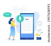 speech to text illustration...