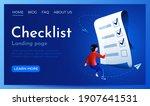 people fly around paper... | Shutterstock .eps vector #1907641531