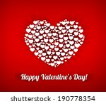 valentines composition of the... | Shutterstock . vector #190778354